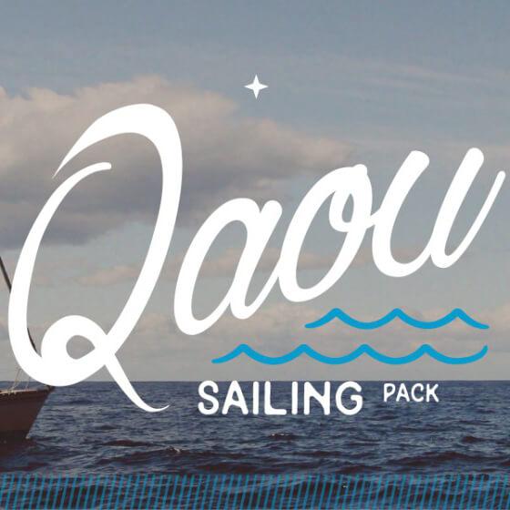 Qaou sailing pack bateau tente hamac mer