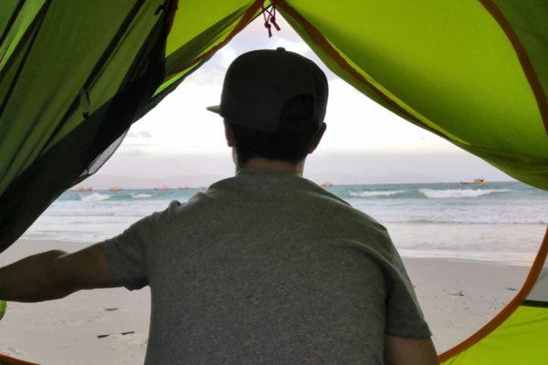 No made l'aventure avec Qaou la tente road trip