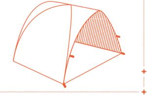 Qaou utilisation tente multifonctions