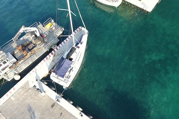 Qaou hamac toile multifonctions mer bateau