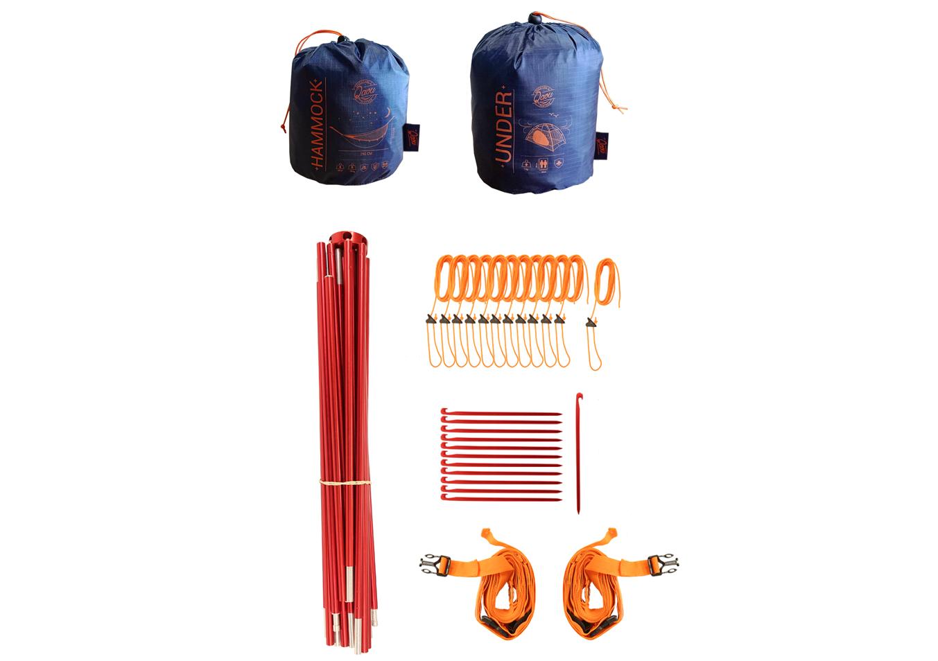 Qaou bivouac Pack hamac tente multifonction