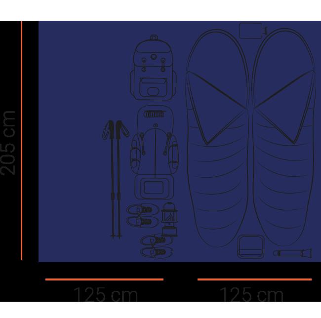 espace tente modulable