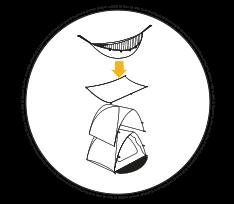 Tente modulable et multifonction Qaou multi usage