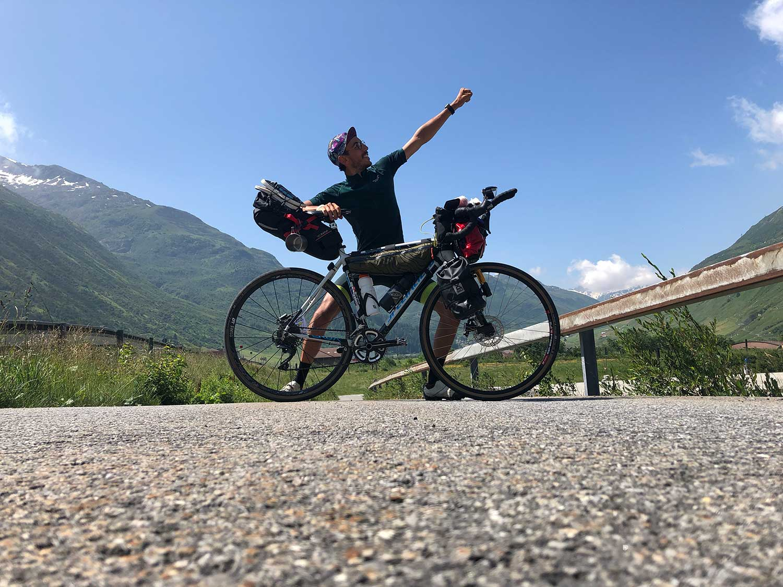 Clément, cyclo baroudeur nous raconte son road trip.