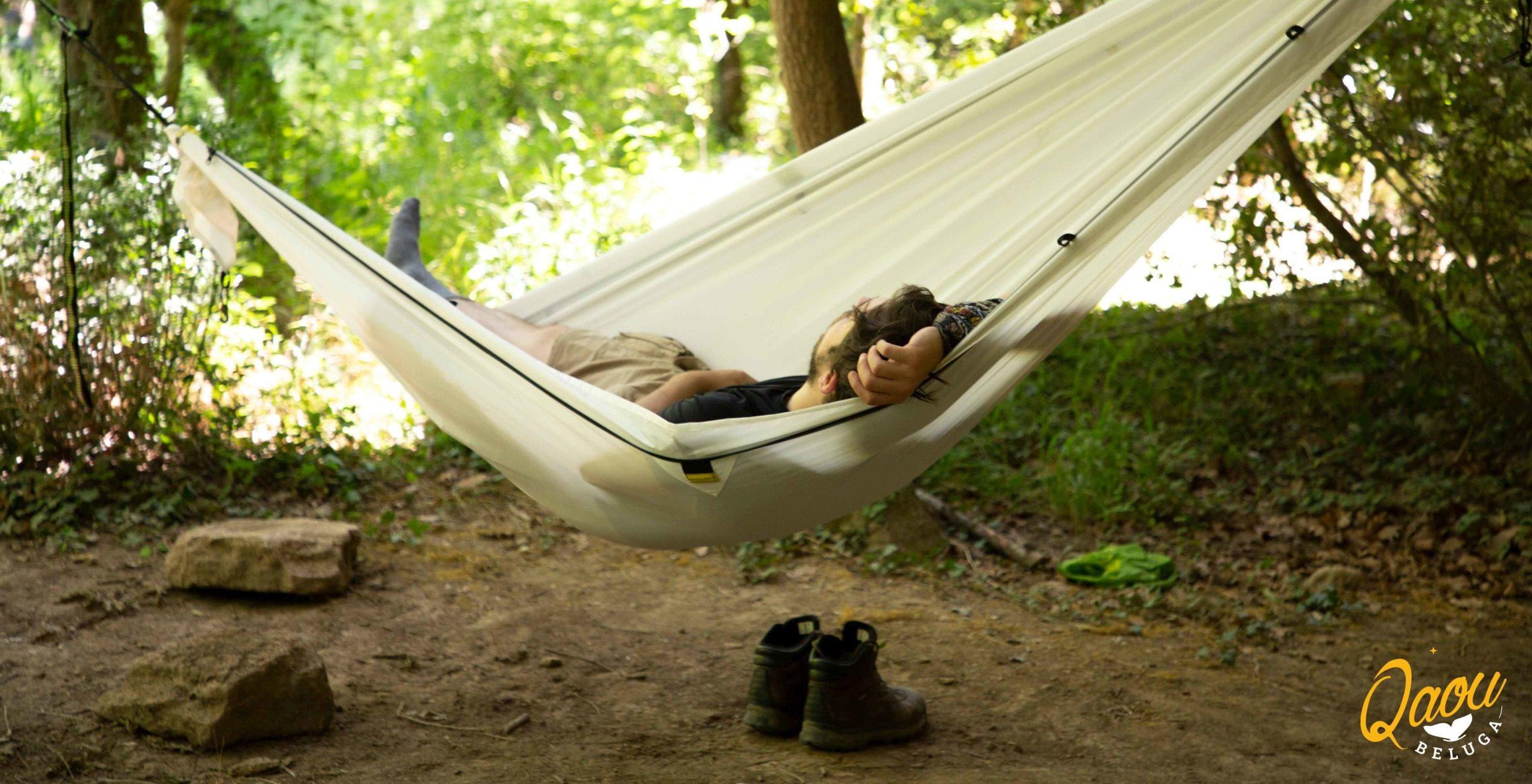 Dormir dans un hamac, c'est bon pour la santé !